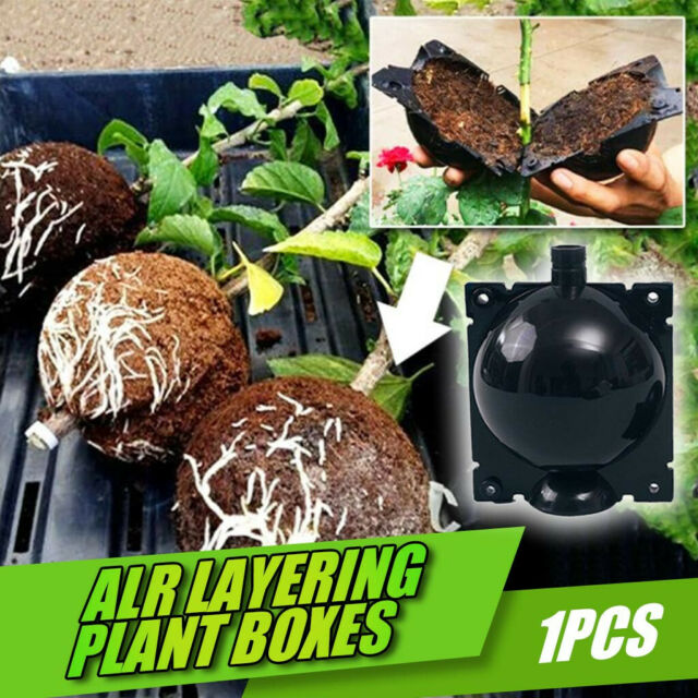 Reusable Plant Rooting Grow Box High Pressure Propagation Ball Air Layering Pod*