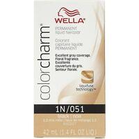 Wella Color Charm Liquid Haircolor 1n/51 Black, 1.4 Oz (pack Of 2) on sale