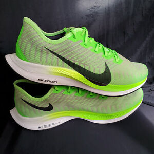 Details about Nike Zoom Pegasus Turbo 2 Mens Running Shoe US Sz 11 Electric  Green AT2863-300