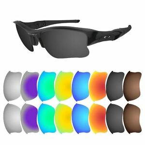 Polarized-Replacement-Lenses-for-Oakley-Flak-Jacket-XLJ-Multiple-Options