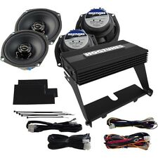 Hog Tunes HogTunes Gen 3 Big Ultra Speaker AMP Kit For Harley 1998-2013