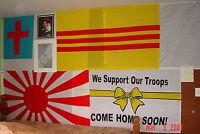 Nip Brand South Viet-nam / Vietnam Flag 3' X 5' Vietnamese Flag / Banner