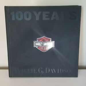 RARE-100-YEARS-OF-HARLEY-DAVIDSON-Book-Motorcycles-BULFINCH-2002-FIRST-EDITION
