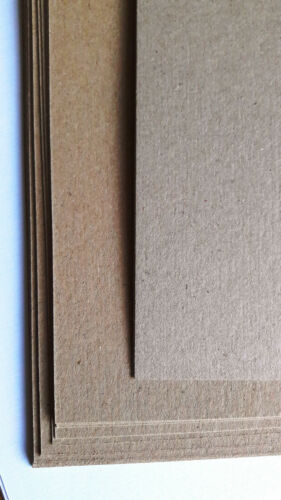 A4 Natural Kraft Card Quality 280gsm For Rustic Wedding Card Making Art /& Craft