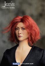 1/6 Hot CUSTOM Yoko Maki 真木陽子 真木よう子 toys female figure head sculpt phicen kumik