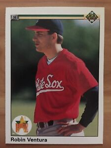 Details About Rc Robin Ventura 1990 Upper Deck 21 Chicago White Sox Rookie Card Baseball