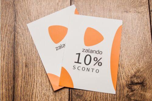 10/% DI SCONTO SU ZALANDO .IT