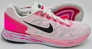 Nike-Lunarglide-6-Running-Scarpe-da-ginnastica-654434-106-Rosa-Bianco-UK7-US9-5-EU41