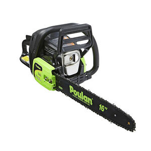 Poulan p3816 16 38cc 2 cycle gas powered chainsaw certified image is loading poulan p3816 16 034 38cc 2 cycle gas greentooth Choice Image