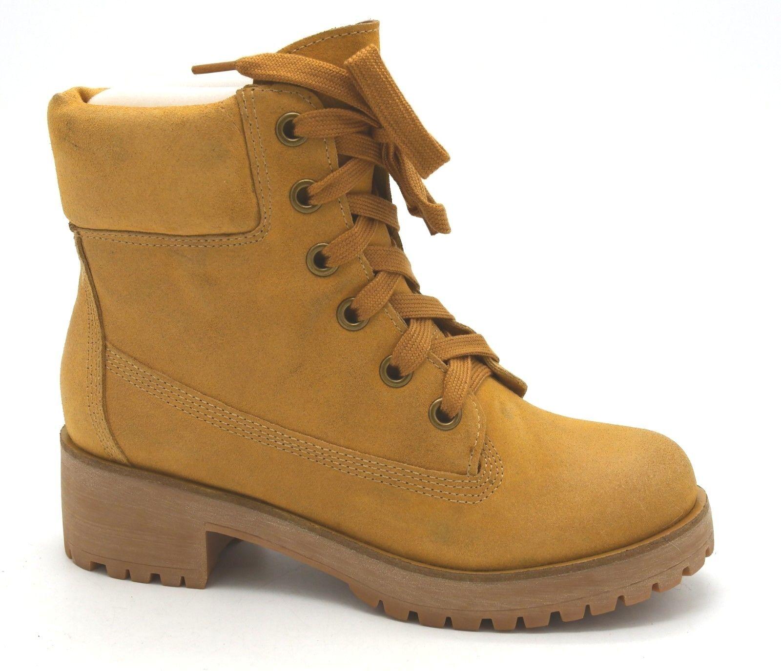 J6889 New donna  Lucky Brand Jinny 2 Dirty Suede Hiker giallo avvio 6 M  negozio d'offerta