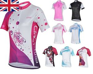 UK-Stock-Free-P-amp-P-Cheji-Bicycle-Cycling-Team-Lady-Sports-Outfit-Jerseys-S-XXL