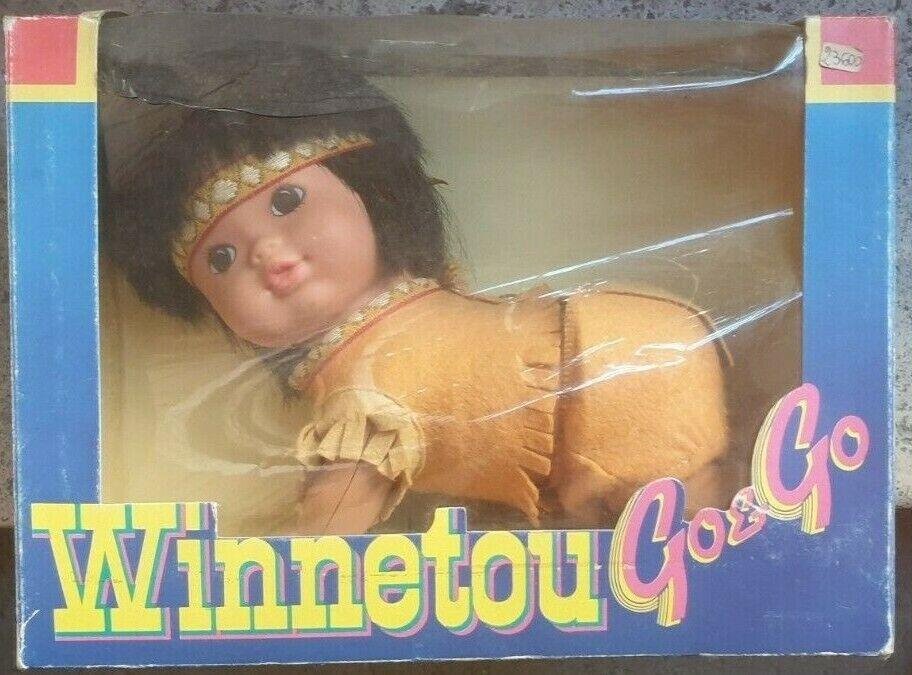 Winnetou GO& GO Bambola Vintage
