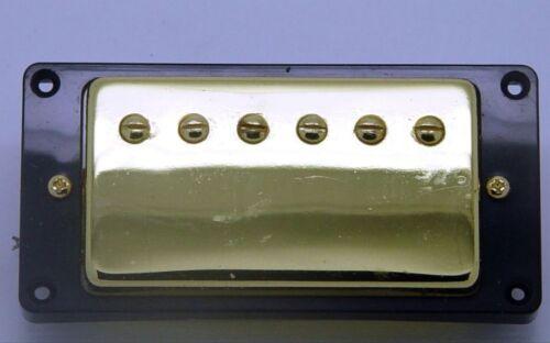 HUMBUCKER Noiseless Neuf 7,5k  pour toute guitare manche- gold