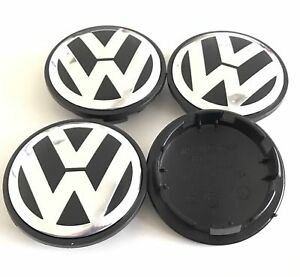 4pcs 65mm vw wheel rim center cap golf polo jetta mk4 mk5. Black Bedroom Furniture Sets. Home Design Ideas