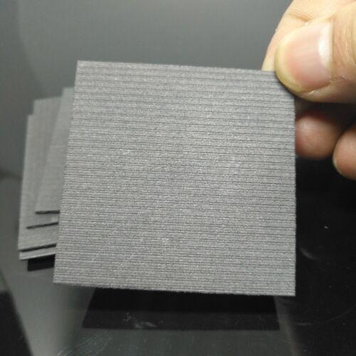 5pcs 99.99/% Pure Graphite Electrode Rectangle Plate Sheet 50*50*3mm Repair Tool