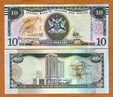 Trinidad and Tobago, 10 dollars, 2006 (2017), P-New, New Sig. UNC