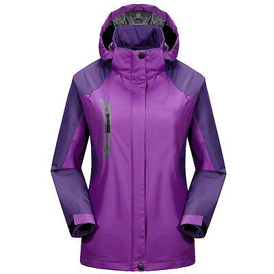 Women Sport Waterproof Outdoor Coat Outerwear Camping Hiking Jacket Sportswear H
