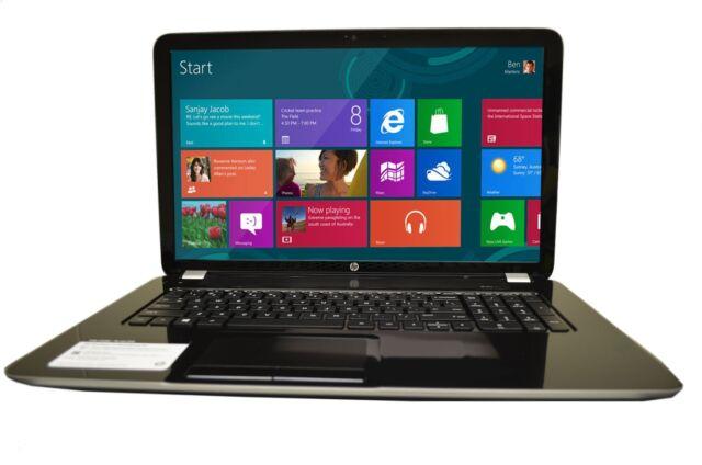"NEW HP 17-e134nr 17.3"" Quad Core @ 2.8GHz Windows 8.1 HDMI 4GB 500GB HD DVD±RW"