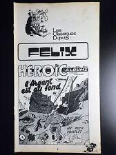 Supplément Spirou Classiques Dupuis Felix Tillieux N° 1881 Heroic Album