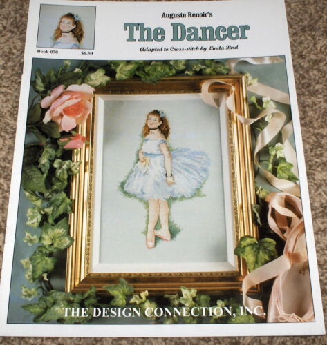 "Auguste Renoir/'s /""The Dancer/"" Young Girl Ballet Dress Cross Stitch Pattern"