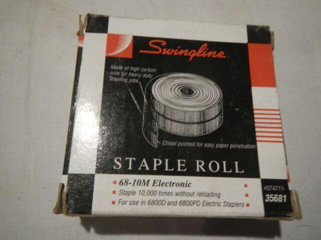 68-10M for Electronic Stapler Models 6800D and 6800PD Swingline Staple Roll