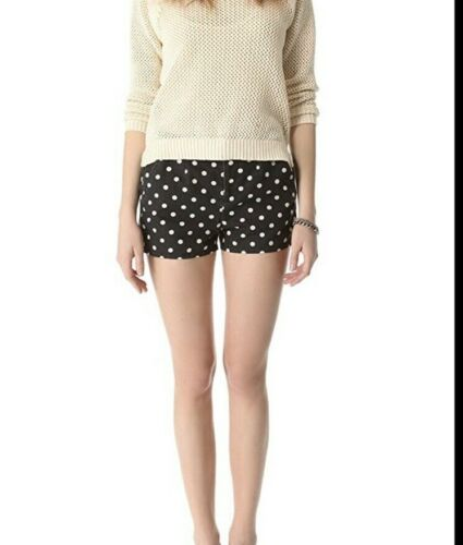 Madewell Tailored Shorts in Art Dot Size 2 Cotton