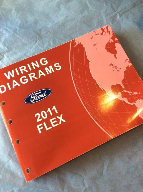 2011 Ford Flex Electrical Wiring Diagram Manual Schematic
