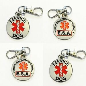 ALL-ACCESS-CANINE-Service-Dog-Emotional-Support-Animal-ESA-metal-dog-collar-tag