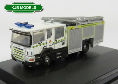 BNIB N GAUGE OXFORD DIECAST 1:148 NSFE003 SCANIA PUMP LADDER GRAMPIAN FIRE ENGIN