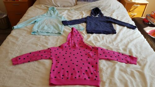 BULK 3 HOODIE JUMPER ASSORTED BRAND RRP$150 SIZE 8