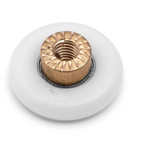 25mm 27mm Wheel Diameter A3 23mm 4 x Shower Door Rollers//Runners//Wheels 19mm