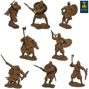 Runecraft Series toy soldier Vikings 9th-11th siècles échelle 1/32 Set #3
