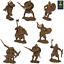 miniature 1 - Runecraft Series toy soldier Vikings 9th-11th siècles échelle 1/32 Set #3
