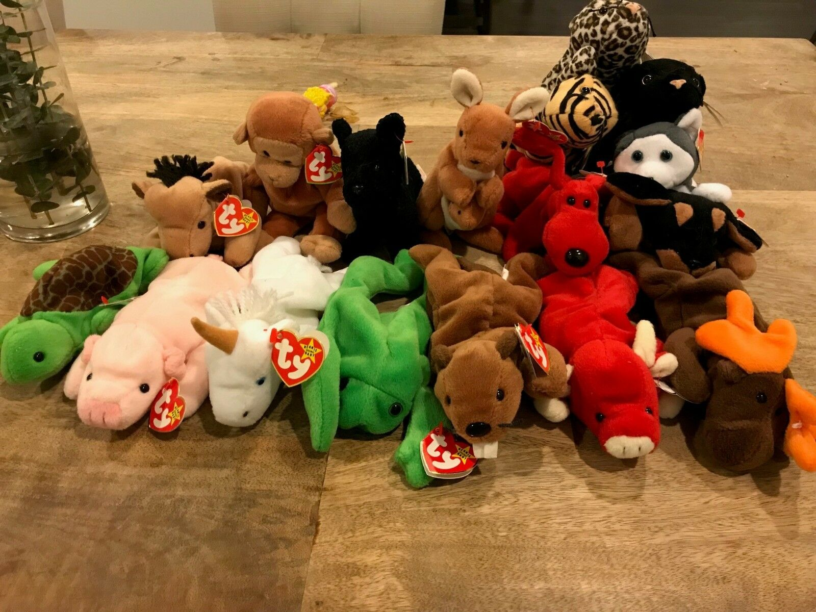 RARE Beanie Babies Lot ALL PVC, Many Errors (PM me me me for additional pics) 0d9389