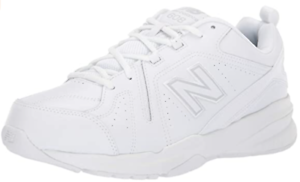 Men's Comfortable Leather Casual Comfort Cross Trainer Shoe,US 11.5 X-Wide,White