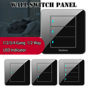 LED-Indicator-Touch-Panel-Wall-Switch-Push-Buttons-1-2-3-4-Gang-Home-Decor