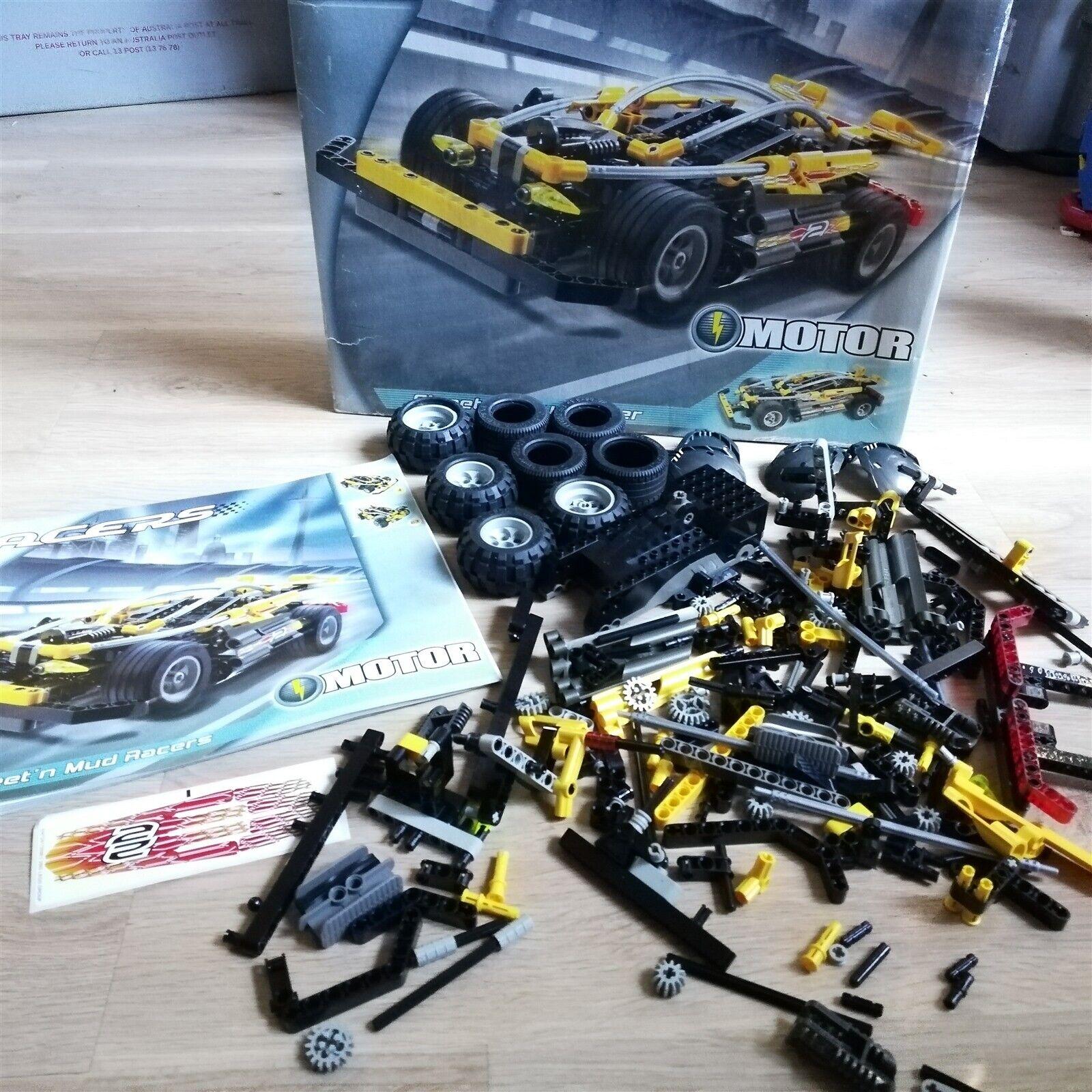 LEGO - Racers - Street  'n' Mud Racer - 8472 Excellent  spedizione gratuita in tutto il mondo