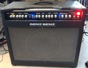 Details About Genz Benz El Diablo 60w 30w 1x12 Guitar Combo Amp Huge Closed Back Cab 30 Or 60w