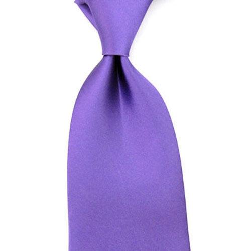 Men Formal Satin Solid Color Business Neckwear Necktie 8cm Wide Wedding Tie New