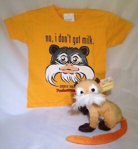 LOOK-SALE-NOW-Emperor-Tamarin-Stuffed-Animal-amp-T-Shirt-Gift-Set-PocketFuzzies