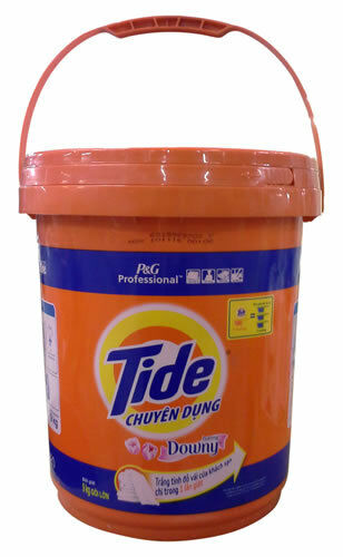 BRAND NEW  TIDE  PLUS+ Downy P&G Powder Detergent  1 Bucket / 20 Lbs / 9 Kg