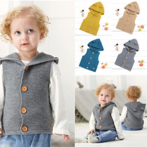 12dcf4acc Toddler Kids Baby Girls Boys Winter Warm Vest Blouse Thick Coat ...
