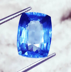 10.37 Ct Loose Gemstone Natural Blue Sapphire For Ring Use Certified Gems eBay