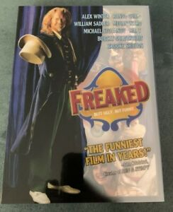 Freaked-DVD-2013-1993-Cult-Film-Anchor-Bay-RARE-OOP-slipcover-Alex-Winter