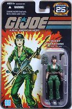 LADY JAYE GI JOE Foil The 25th Anniversary 2007 3.75 INCH ACTION FIGURE