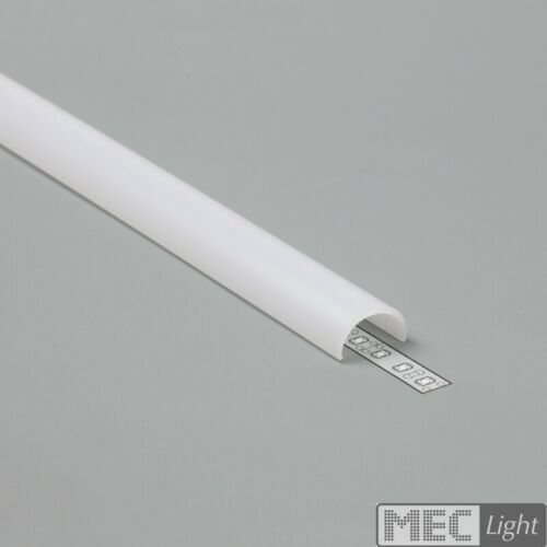 """Abdeckung elastisch biegbares Aufbau-ProfilLeiste /""""ELA/"""" für LED Streifen"""