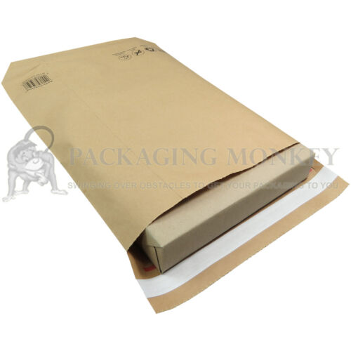 NATURAL BROWN KRAFT PAPER MAILING BAGS DURABLE PARCEL ECO MAILERS *ALL SIZES*