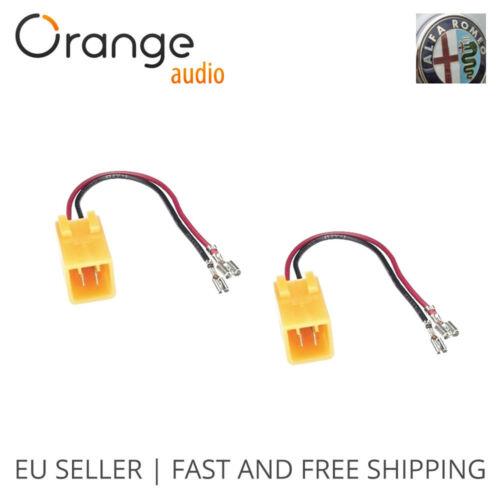 Radio Stereo Speaker Wire Harness Adapter Adaptor Plug for Alfa Romeo Cars
