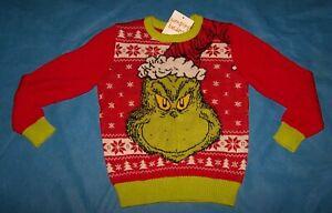 Boys  Ugly Christmas Sweater Jumping Beans DC Comics Batman Size 6