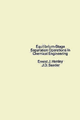 1 of 1 - Equilibrium-Stage Separation Operations in Chemical Engineering-ExLibrary